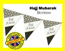 Hajj Mubarak Bunting HJ1 Religion & Festival Islamic Decorate, Decorations NEW